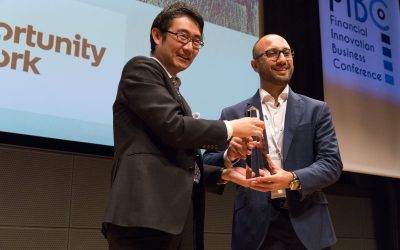 Opportunity Network Wins the Grand Prize for FIBC 2018
